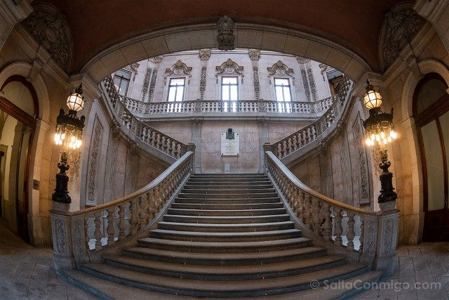 Que Ver en Oporto Palacio Bolsa Escalera Real