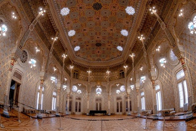 Que Ver en Oporto Palacio Bolsa Sala Arabiga