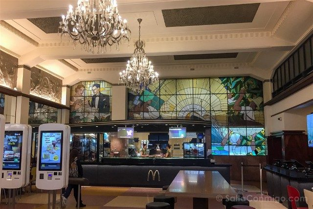 Que Ver en Oporto Plaza Liberdade McDonalds
