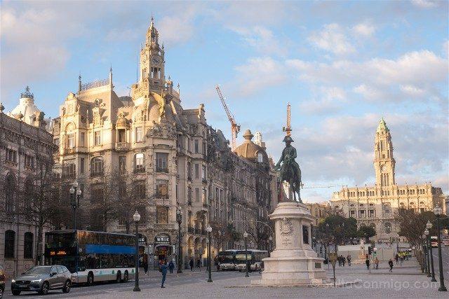 Que Ver en Oporto Plaza Liberdade