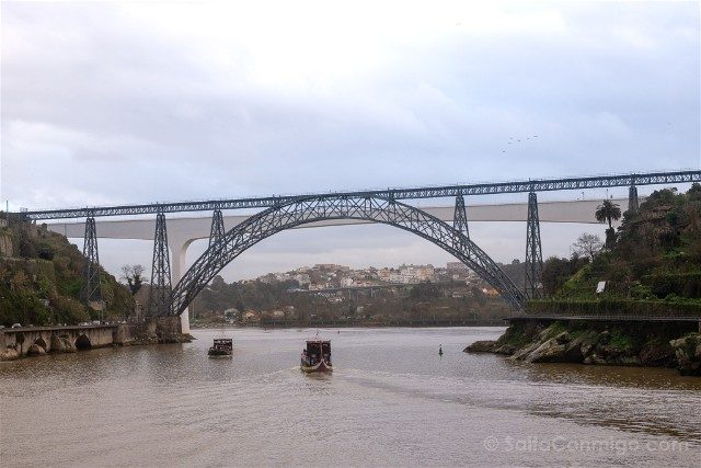 Que Ver en Oporto Puente Maria Pia
