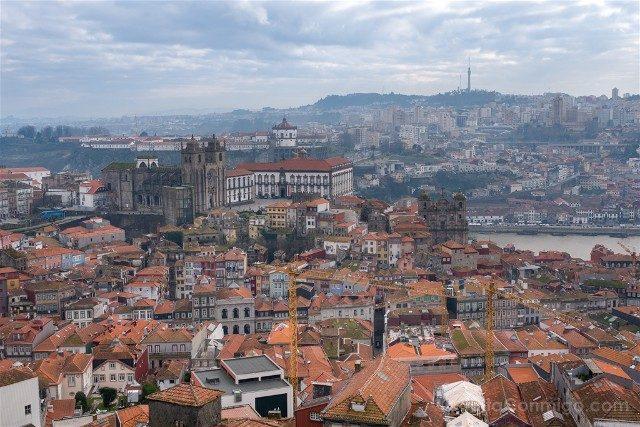 Que Ver en Oporto Torre Clerigos Vista
