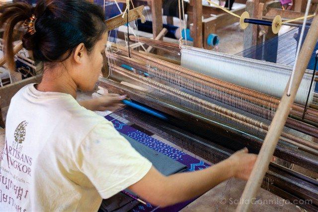 Que hacer ver Siem Reap Ankor Artisans Seda