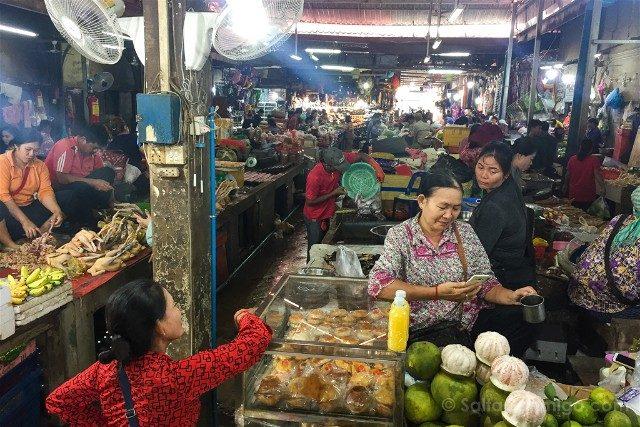 Que hacer ver Siem Reap Mercado Phsar Leu