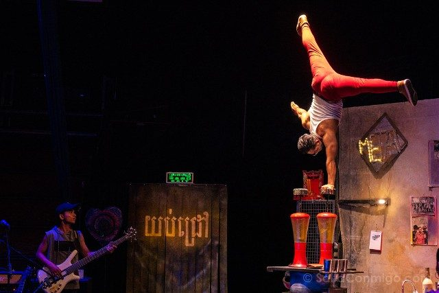 Que hacer ver Siem Reap Phare Circus