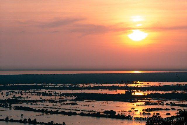 Que hacer ver Siem Reap Tonle Sap Atardecer Phnom Krom
