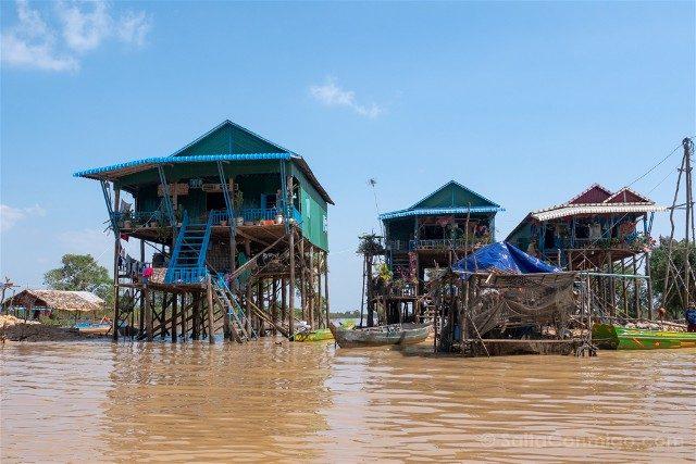 Que hacer ver Siem Reap Tonle Sap Kompong Pluk Palafitos