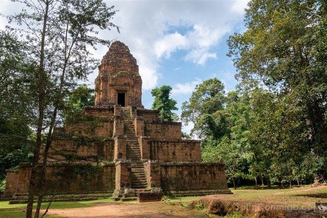 Templos de Angkor Baksei Chamkrong