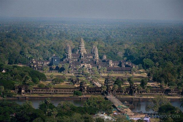 Templos de Angkor Balloon Vista