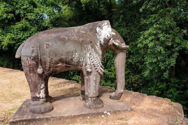 Templos de Angkor Mebon Oriental Elefante