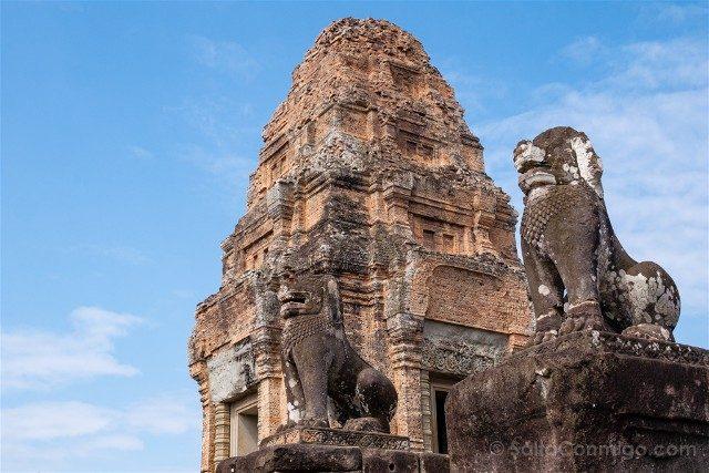 Templos de Angkor Mebon Oriental