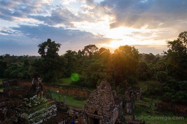 Templos de Angkor Pre Rup Atardecer