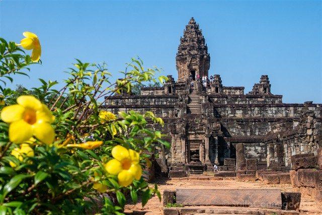 Templos de Angkor Roluos Bakong