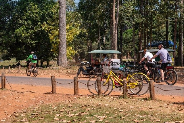 Templos de Angkor Thom Bicicletas