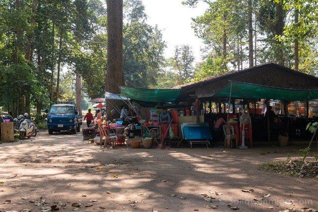 Templos de Angkor Thom Puestos Comida