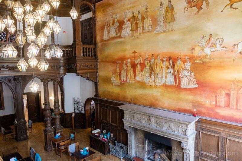 Castillo de Moszna Interior Fresco