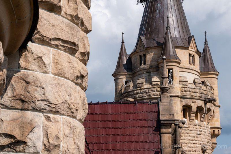 Castillo de Moszna Interior Torre Esqueleto