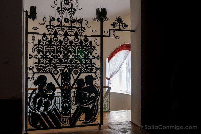 Castillo de Moszna Interior Torre Reja