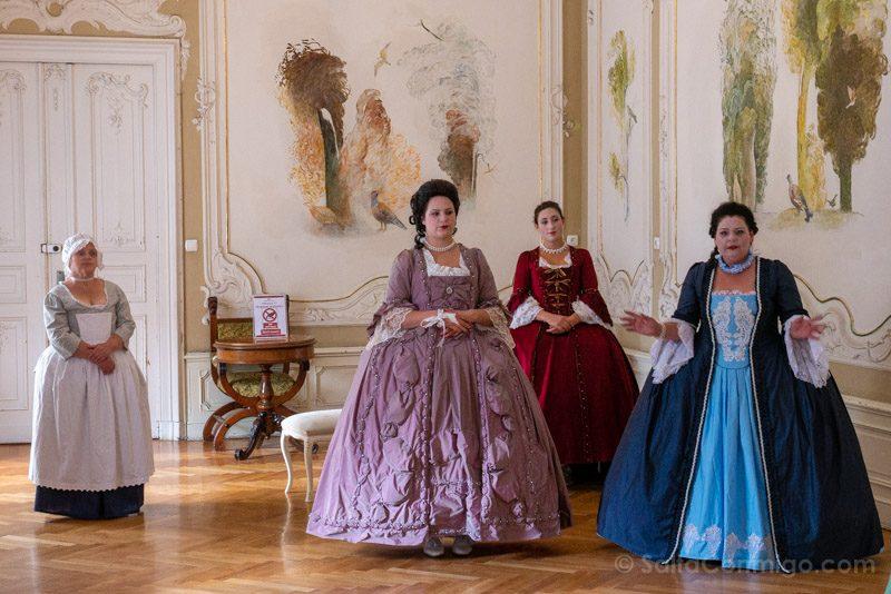 Castillo de Moszna Interior Visita Teatralizada