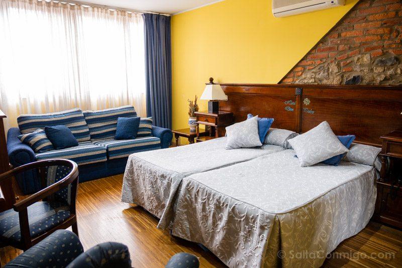 Dormir en Aviles Hotel Don Pedro Habitacion