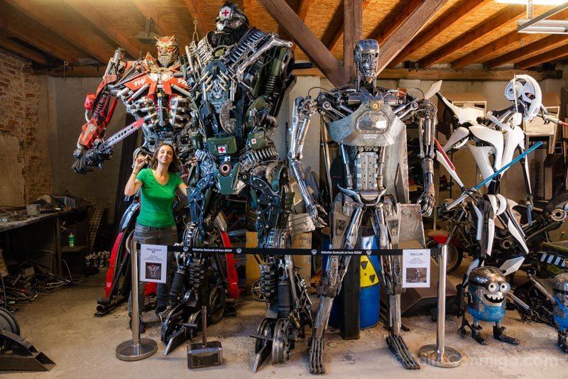 Fabryka Robotow Transformers Terminator Sara