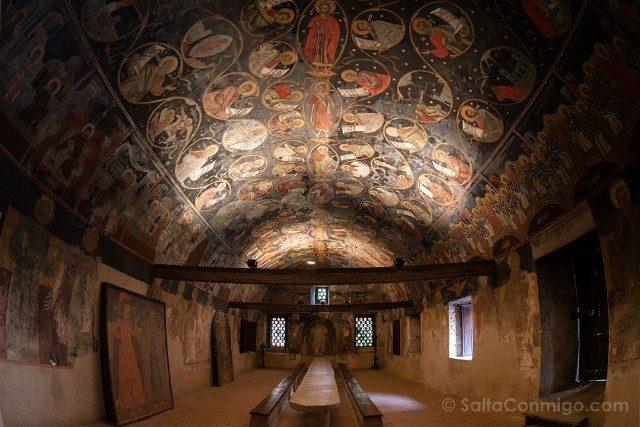 Monasterio de Bachkovo Antiguo Refectorio