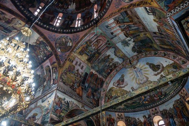 Monasterio de Bachkovo Iglesia Sveta Bogoroditsa Frescos