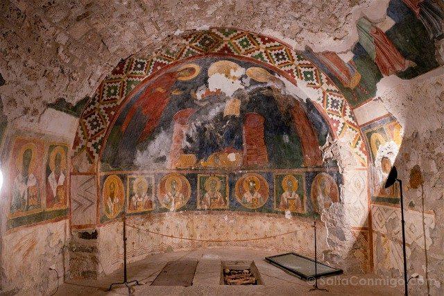 Monasterio de Bachkovo Osario Huesos