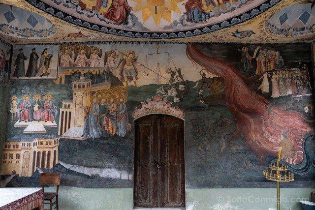 Monasterio de Bachkovo San Nicolas Apocalipsis