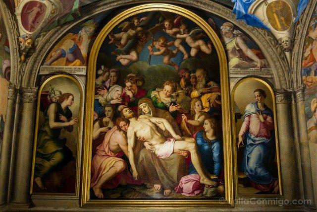 Palazzo Vecchio Florencia Capila Leonor Toledo Bronzino