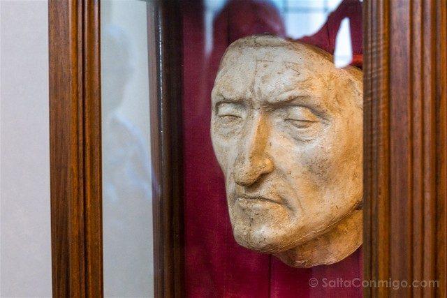 Palazzo Vecchio Florencia Mascara Dante