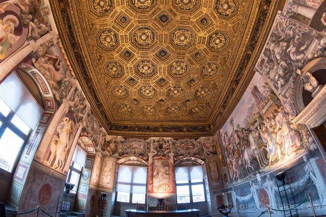 Palazzo Vecchio Florencia Sala Audiencia