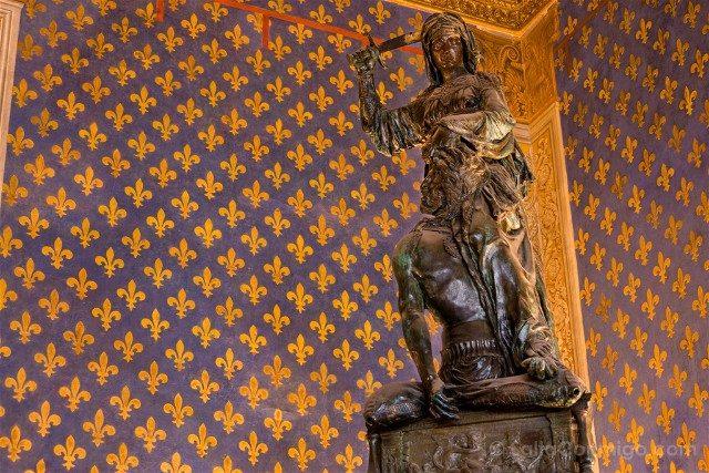 Palazzo Vecchio Florencia Sala Lis Judit Holofernes Donatello