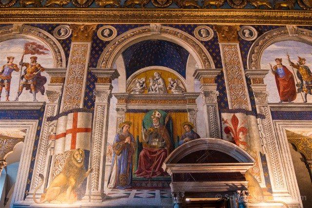 Palazzo Vecchio Florencia Sala Lis