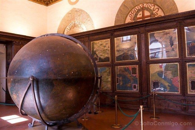 Palazzo Vecchio Florencia Sala Mapas