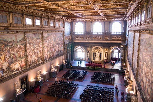 Palazzo Vecchio Florencia Salon Quinientos