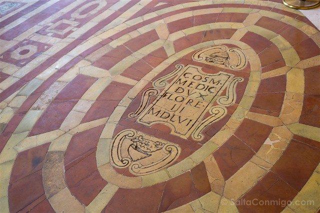 Palazzo Vecchio Florencia Suelo