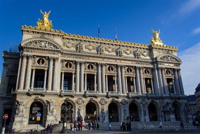 Que Ver En Paris Opera Garnier Fachada