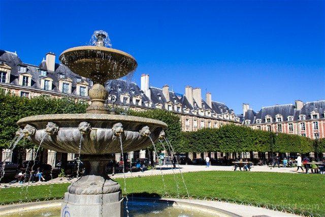 Place des Vosges de Paris