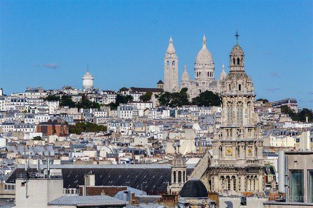 Que Ver En Paris Sacre Couer Vista
