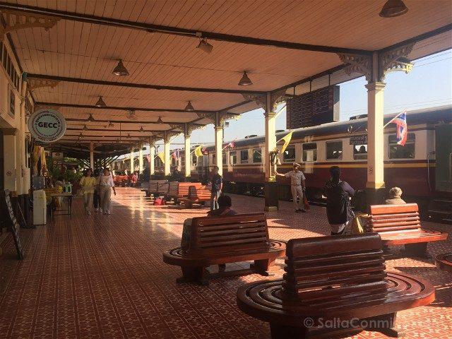 Que Ver en Ayutthaya Estacion Tren