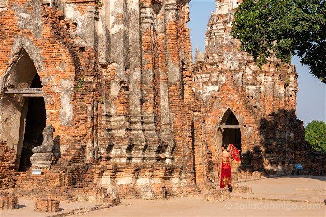 Que Ver en Ayutthaya Wat Chai Watthanaram Gala