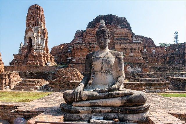Que Ver en Ayutthaya Wat Mahathat Buda