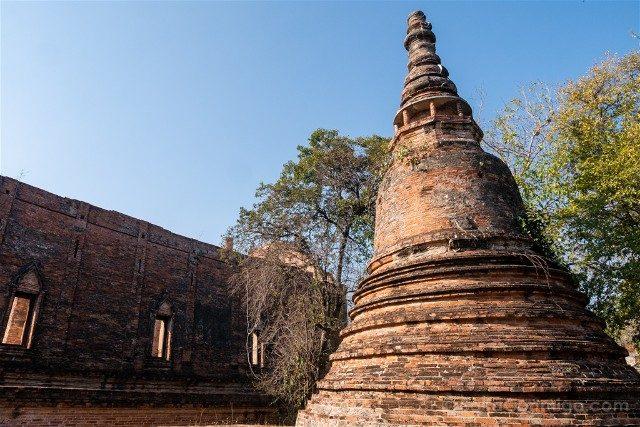Que Ver en Ayutthaya Wat Maheyong Estupa