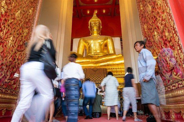 Que Ver en Ayutthaya Wat Phra Mongkhon Bophit Buda