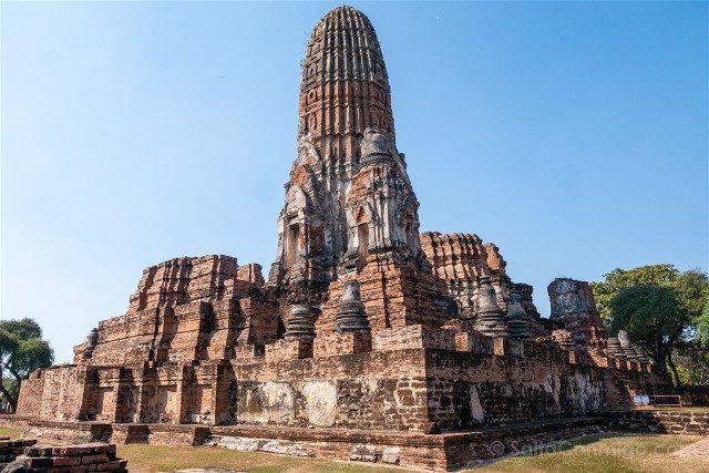 Que Ver en Ayutthaya Wat Phra Ram Prang