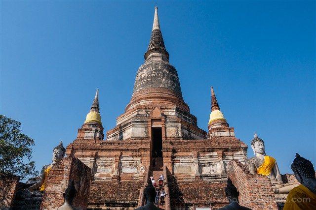 Que Ver en Ayutthaya Wat Yai Chai Mongkhol Panorama