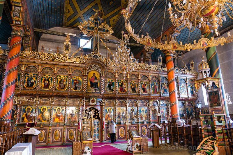 Que Ver en Bansko Iglesia Sveta Troitsa Iconostasio