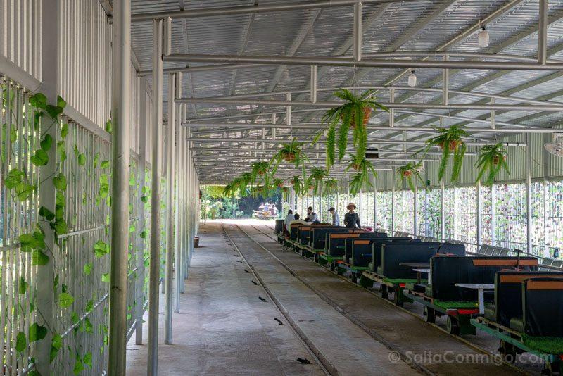 Que Ver en Battambang Bambu Train