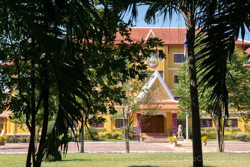 Que Ver en Battambang Casa Gobernador